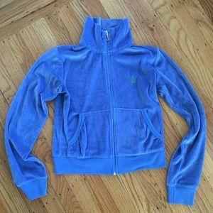 Juicy Couture Blue Velour Tracksuit